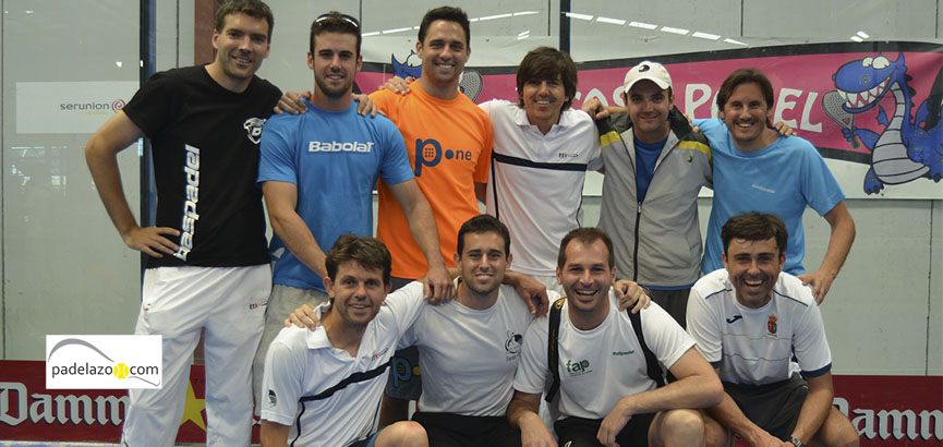 equipo axarquia ferrara previa masculina campeonato andalucia padel equipos 3 malaga fantasy padel abril 2014