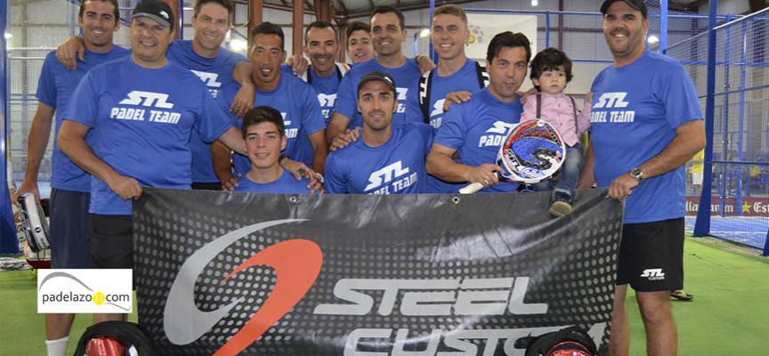 El empuje de padel malagueño gripa en la fase final del Campeonato de Andalucía de Padel por Equipos de 3ª
