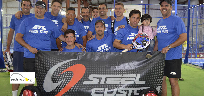 equipo steel custom previa masculina campeonato andalucia padel equipos 3 malaga fantasy padel abril 2014