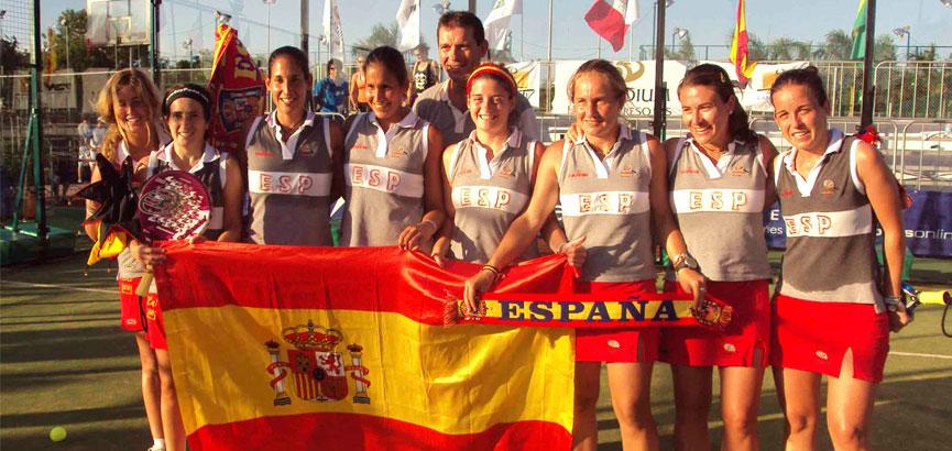 españa-femenino-campeones-cancún-2010-campeonato-mundial-padel-2014