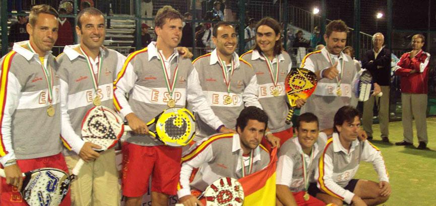 españa-masculino-campeones-cancún-2010-campeonato-mundial-padel-2014