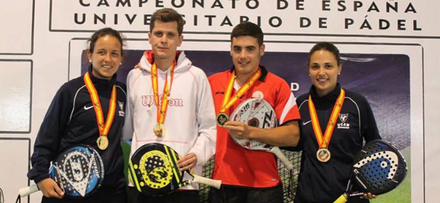 Campeonato de España Universitario de Padel 2014: Granada y Murcia se doctoran en Mérida