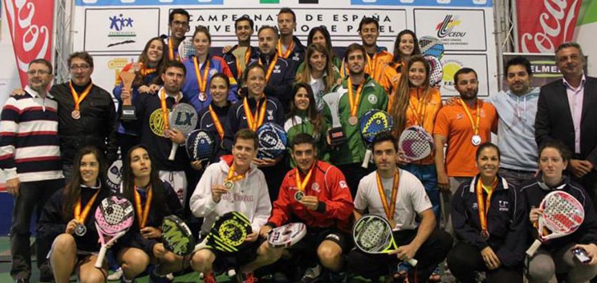 ganadores-finales-campeonato-de-españa-universitario-de-padel-2014-merida
