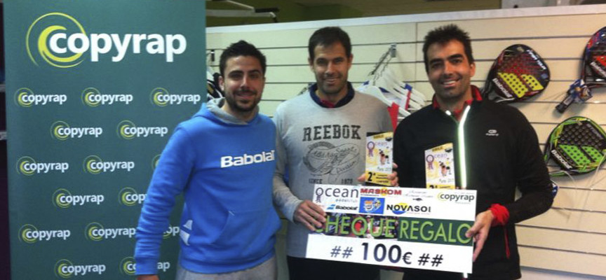 Babolat Padel Tour 2014 se lleva de Málaga las primeras parejas campeonas