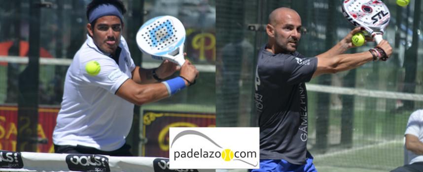 Sergio Beracierto y Gabo Loredo imponen su trazo firme en la II Prueba del Circuito FAP en Málaga