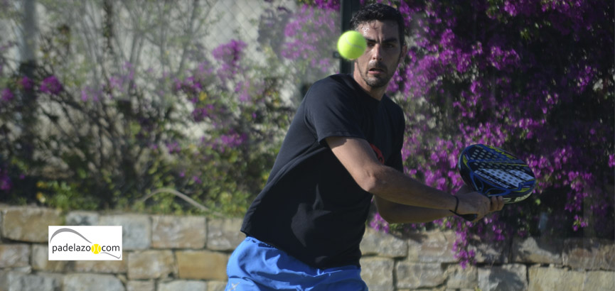 Alberto Rosell final padel 2 masculina torneo belife mayo 2014