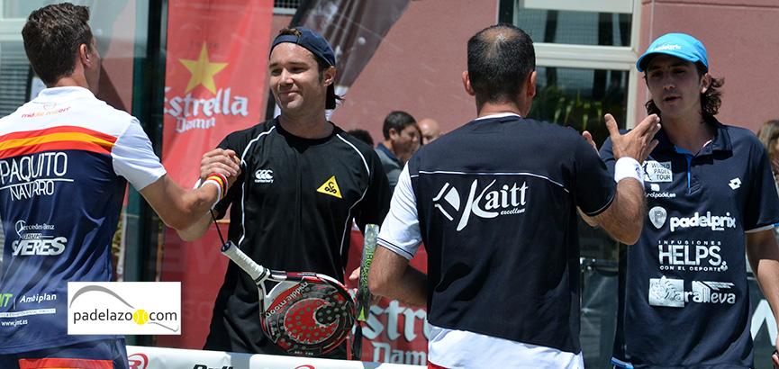 paquito-navarro-y-Willy-Lahoz-jacobo-blanco-y-adrian-blanco-final-masculina-campeonato-españa-padel-2014-la-moraleja-madrid