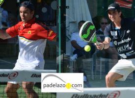 Jacobo Blanco y Adrián Blanco derriban la puerta de la final del Campeonato de España de Padel 2014