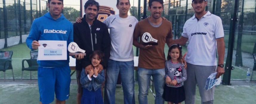 Daspadel se pone a cien para celebrar su primer aniversario en Vals Sport Teatinos