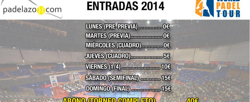 Entradas del World Padel Tour Badajoz 2014: ya a la venta