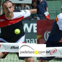 Willy Lahoz y Paquito Navarro dictan la última lección en la final masculina del Campeonato de España de Padel 2014
