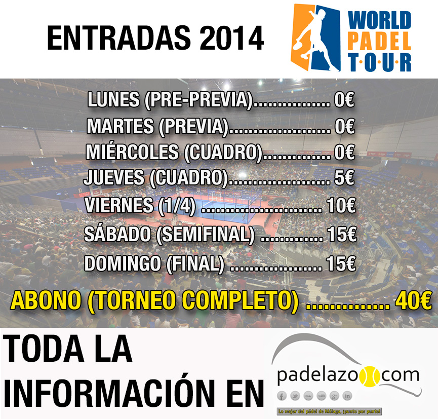 precios-entradas-world-padel-tour-2014