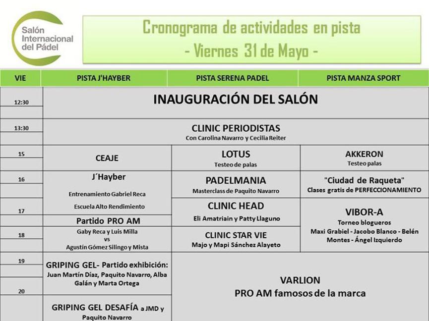 salon-internacional-del-padel-actividades-viernes-30-de-mayo