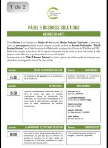 salon internacional del padel jornadas padel business solutions 0 viernes 30 de mayo