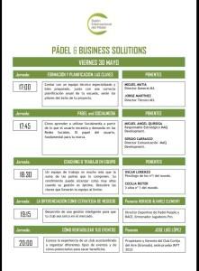 salon internacional del padel jornadas padel business solutions 1 viernes 30 de mayo