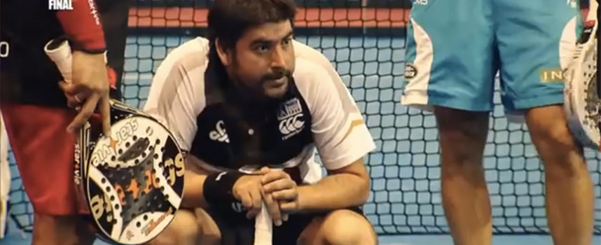 Accidentes en el padel: videos de palazos y pelotazos