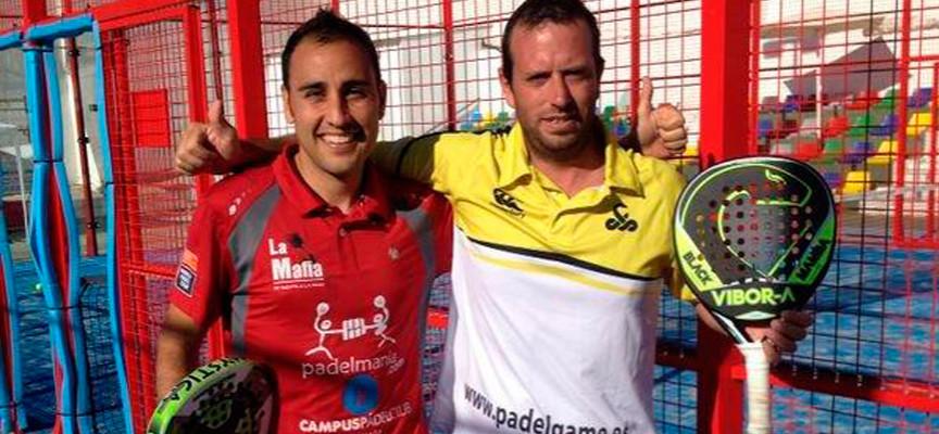 Javi Limones y Germán Tamame imponen su pegada para volver a reinar en el Torneo de Padel de Alcaudete