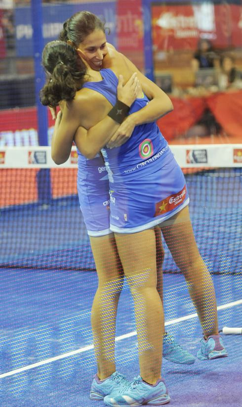 mapi y majo sanchez alayeto final-femenina-del-estrella-damm-badajoz-open-2014