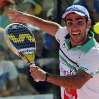 Primera ronda Estrella Damm Badajoz Open 2014: Juani Mieres y Pablo Lima sacan brillo a su liderato
