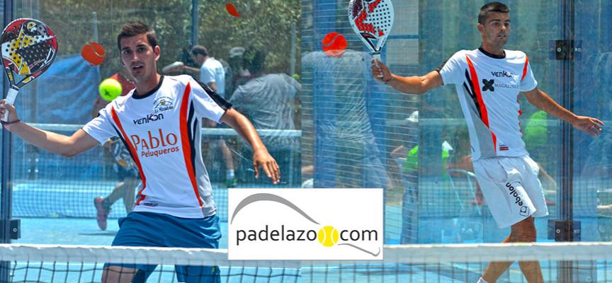 José Bernal y José Huertas pasean por el alambre para anotarse el triunfo en el Torneo de Padel de Pinomar