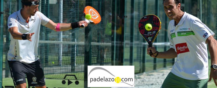Alejandro Ruiz lleva la bandera malagueña a los octavos del World Padel Tour Málaga 2014