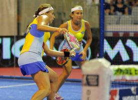 Carolina Navarro y Ceci Reiter se desfondan en un maratón de padel que lleva a Patty Llaguno y Eli Amatriain a la final femenina en Málaga