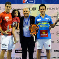 Maxi Sánchez y Sanyo Gutiérrez coronan su ascenso con el título del World Padel Tour Málaga 2014