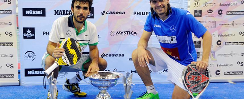 Final del World Padel Tour Castellón 2014: Juani Mieres y Pablo Lima estrenan su casillero