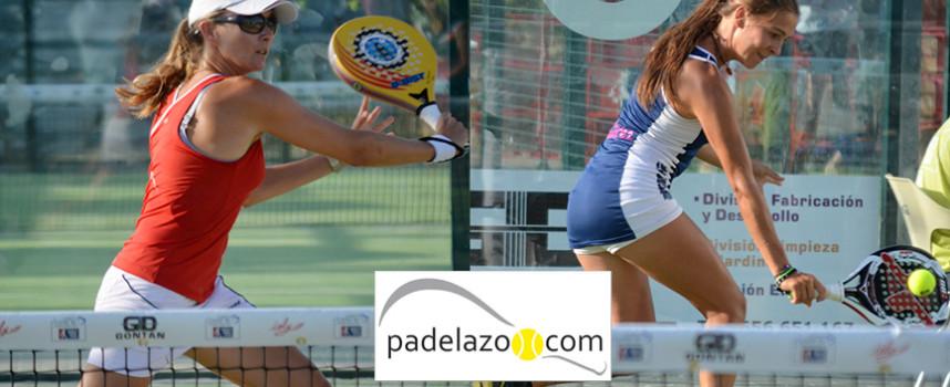 Patricia Mowbray y Elena Ramírez reivindican su hueco en octavos de final del World Padel Tour Málaga 2014