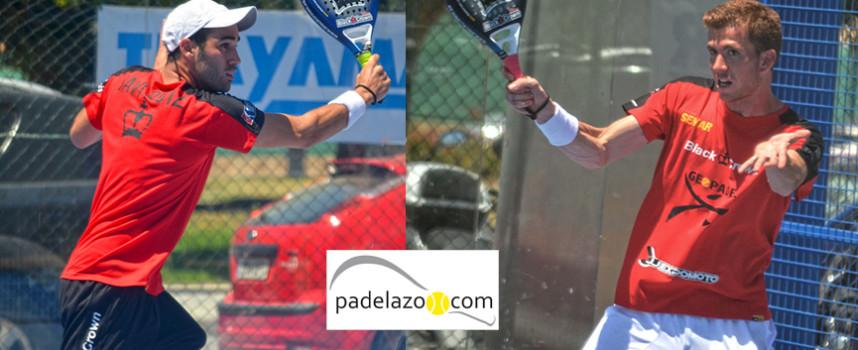 Javi Ruiz y Peli Espejo pactan con la victoria en la final del Open Internacional de Padel de Torre del Mar