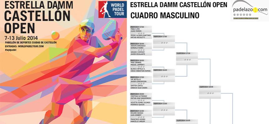 World Padel Tour Castellón 2014: comienza la cuarta prueba del circuito profesional de padel