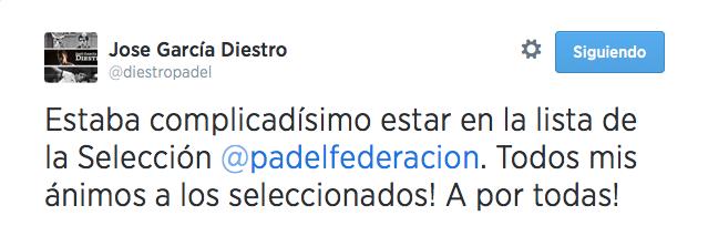 García Diestro tenía clara la dificultad de estar en el Mundial.