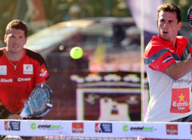 Paquito Navarro y Adrián Allemandi destronan a Los Príncipes para alcanzar la final en Marbella