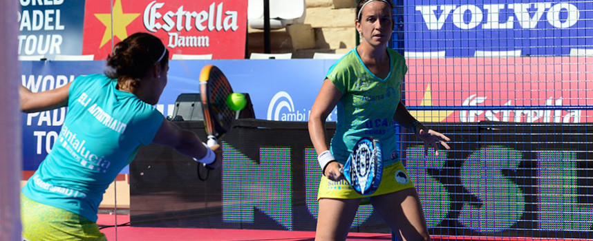 Patty Llaguno y Eli Amatriain desfiguran a Navarro y Reiter para llegar en Marbella a su segunda final de 2014