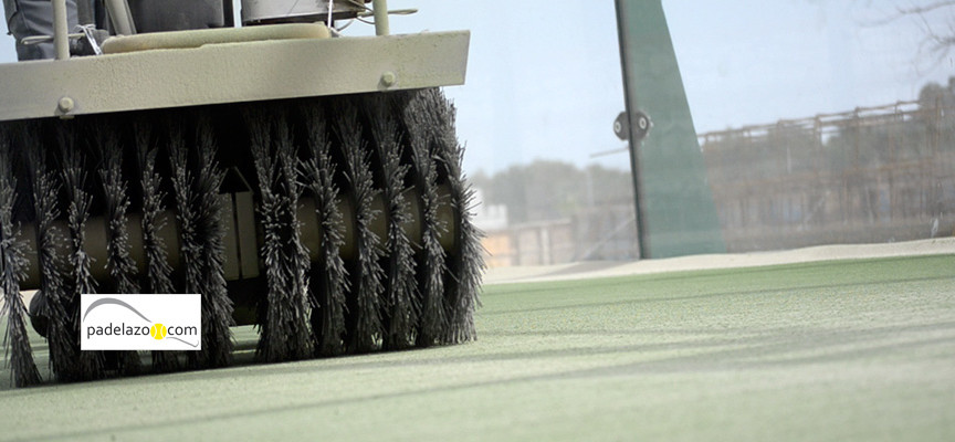 Seis problemas de un deficiente mantenimiento de pistas de padel