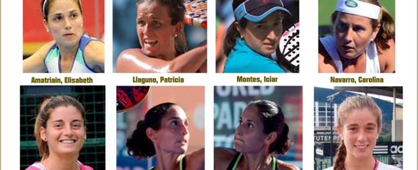 La selección femenina de España, favorita al título en el Mundial de Padel de Mallorca