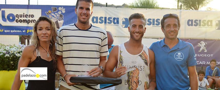 El espectáculo aplaca el calor en el Torneo de Padel de Verano 2014 Reserva del Higuerón