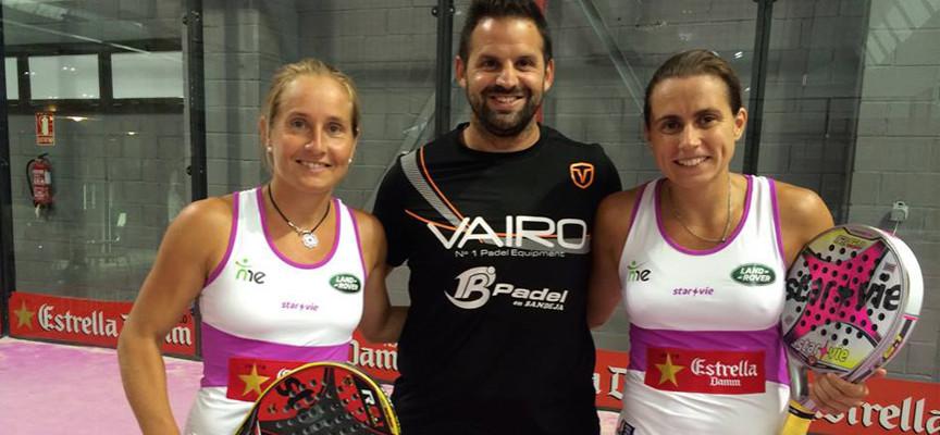 Rodri Ovide, nuevo entrenador de Carolina Navarro y Ceci Reiter