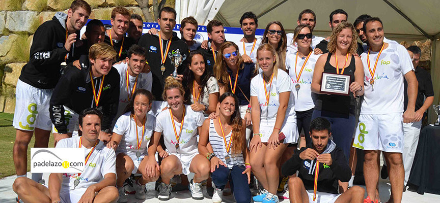 Andalucía prepara su asalto al Campeonato de España de Padel por Selecciones Autonómicas 2014