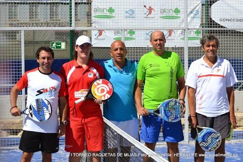 final 2 masculina torneo padel raquetas mijas septiembre 2014