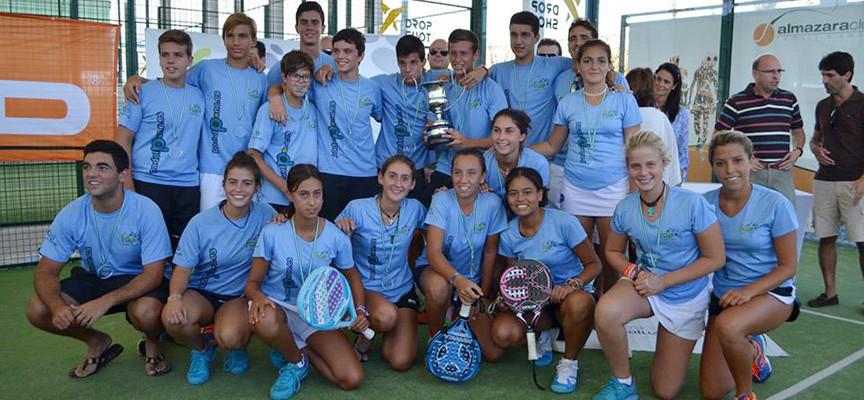 Málaga roza el doblete en el Campeonato de Andalucía de Padel por Selecciones Provinciales de Menores 2014