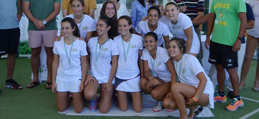 seleccion-femenina-cadiz-campeonato-de-andalucia-de-padel-por-selecciones-provinciales-de-menores-2014