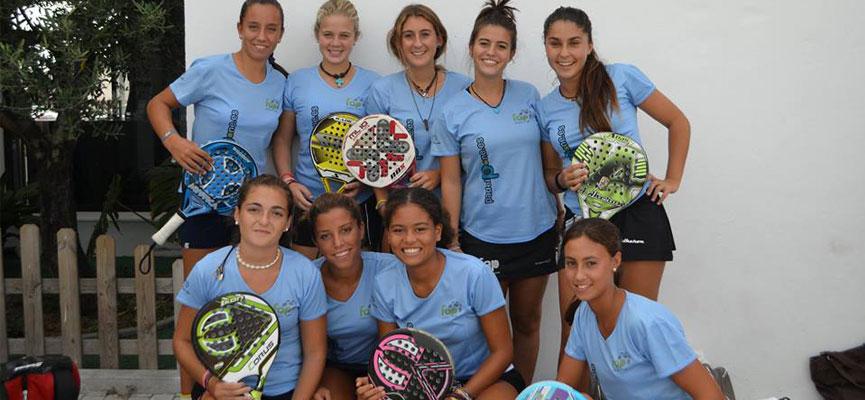seleccion-femenina-malaga-campeonato-de-andalucia-de-padel-por-selecciones-provinciales-de-menores-2014