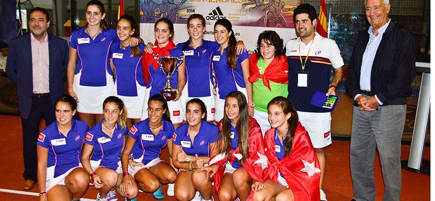 seleccion-madrid-padel-campeonato-espana-padel-selecciones-autonomicas-menores-2014