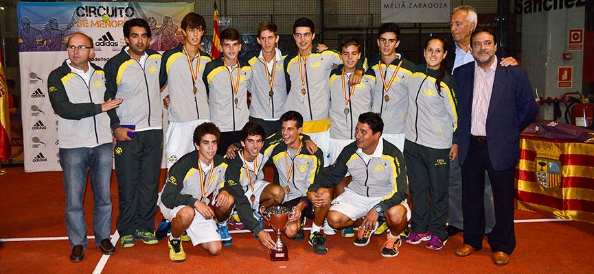 seleccion-masculina-andaluza-padel-campeonato-espana-padel-selecciones-autonomicas-menores-2014