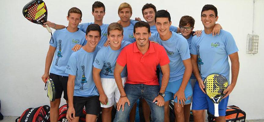 seleccion-masculina-malaga-campeonato-de-andalucia-de-padel-por-selecciones-provinciales-de-menores-2014