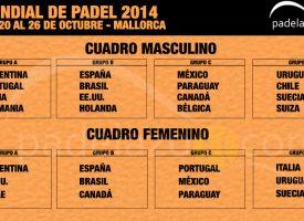 Cuadros del Mundial de Padel 2014: Brasil amenaza a España en la fase de grupos