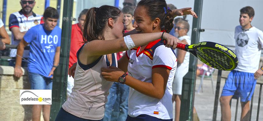 entrada bea y paula campeonas master de padel de menores 2014 la quinta antequera