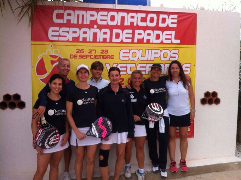 equipo atalanta campeonato espana padel veteranos 2 categoria 2014