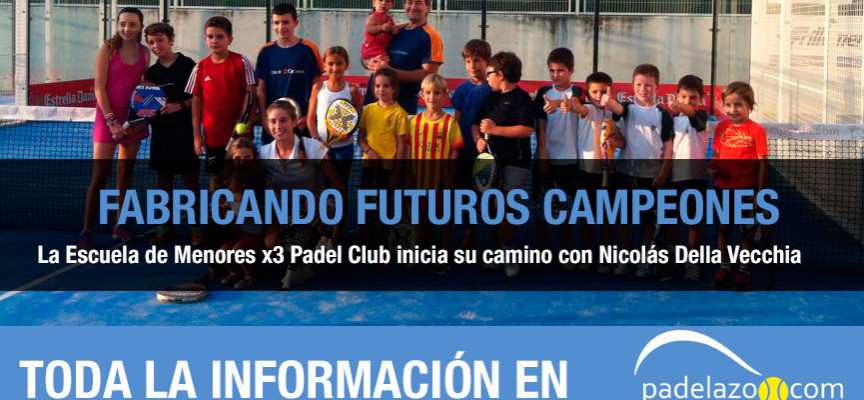 Escuela de Menores de x3 Padel Club de Girona: un puente entre el deporte y la educación